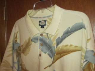 LOT OF 4 MENS TOMMY BAHAMA POLO SHIRTS / SIZE XL / VERY NICE