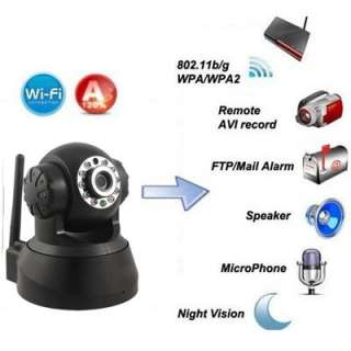 WIFI IR LED 2 Audio Webcam IP Network MINI Camera Night vision