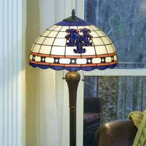New York Mets Baseball Logo Tiffany Style Floor Lamp