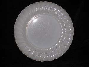 HOCKING   Fire King   Milk glass   gold trim   DINNER PLATE   51e