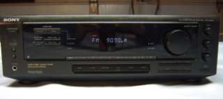 SONY STR D360Z Home Theater Receiver Looks, Works, & Sounds Great but