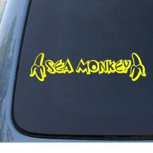 SEA MONKEY   Car, Truck, Notebook, Vinyl Decal Sticker #1299  Vinyl