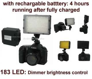 Pro Continuous Hot Shoe LED Video Light for Camera Lamp