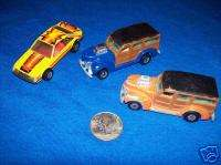 LOT OF 3 1979 HOTWHEELS HOT WHEELS MUSTANG WOODY WAGON