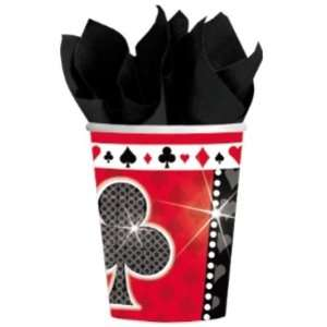 Casino Card Party Paper Cups Case Pack 3