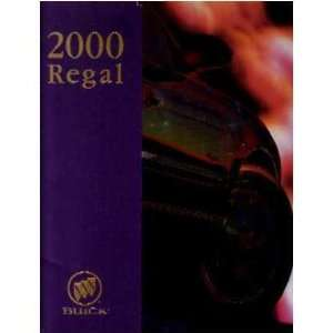 2000 BUICK REGAL Sales Brochure Literature Book Piece