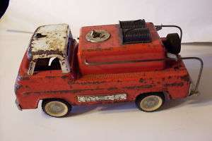 NYLINT PRESSED STEEL FORD FIRE TRUCK