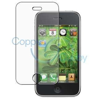 Glare LCD Screen Protector Film Guard For Apple iPhone 3 3G 3GS