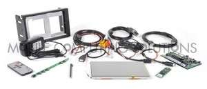 Touch 700 Double DIN Kit 7 VGA Touch Screen Carputer Car PC
