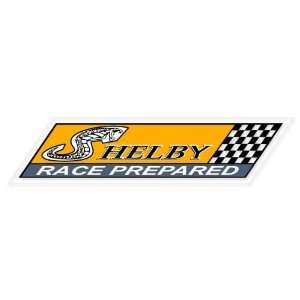 Ford Shelby Racing vynil car sticker window decal 8 x 2