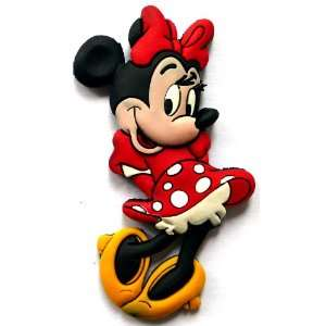 Minnie Mouse Disney ~ Fridge Magnet ~ Refrigerator Magnet ~ polka dot