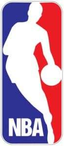 NBA Basketball Logo decal sticker 14 tall NEW