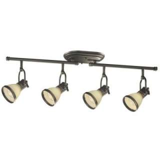 Bay Brookhaven CollectionOil Rubbed Bronze 4 Light Fixed Track Light