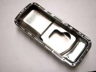Dodge Plymouth Chrysler Big Block Mopar Chrome Oil Pan