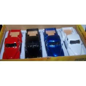Scale Diecast Dub City 1953 Chevy Pickup Box of 4 Colors Toys & Games
