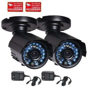 CCTV Audio Security Cameras Weatherproof 3.6mm Wide Angle View Lens