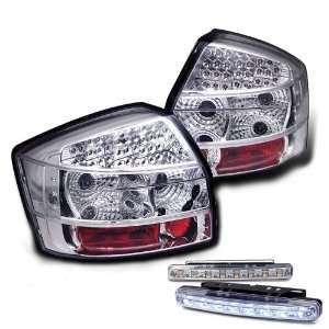 Eautolights 02 05 Audi A4 S4 LED Tail Lights+LED Bumper Fog Lights