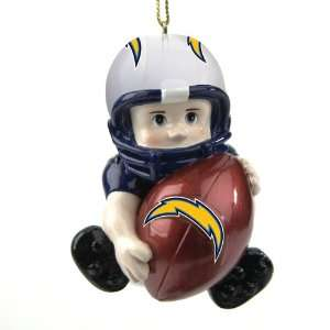 3 NFL San Diego Chargers Little Guy Football Player