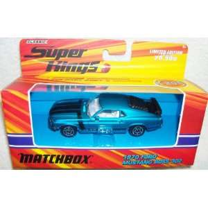 Matchbox 1970 Ford Mustang Boss 302 Fastback 70 Classic