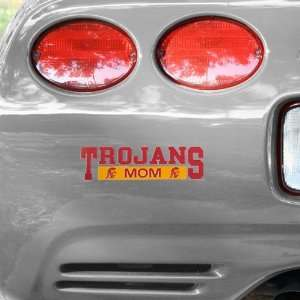 NCAA USC Trojans Mom Car Decal Automotive