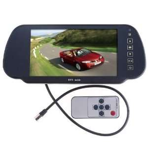 7 Color TFT LCD Car Rearview Monitor for Camera car DVD