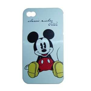 4G / 4 Classic Design Mickey Mouse Disney on white TPU Protector Cover