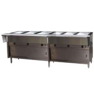 Eagle HT6CB 240 6 Well Electric Hot Food Table   Spec