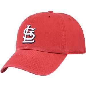 Brand St. Louis Cardinals Red Franchise Fitted Hat