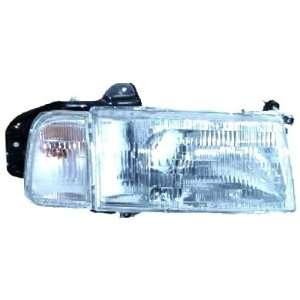 OE Replacement GEO Tracker Passenger Side Headlight Assembly Composite