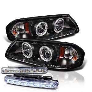 Eautolight 00 05 Chevy Impala LED Projector Head Lights+led Bumper Fog