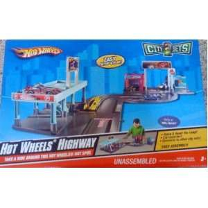 Hot Wheels City Sets Highway Toys & Games