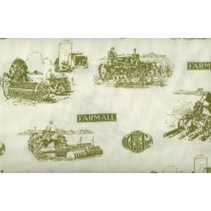 International Harvester Tractor Days Fabric By Springs