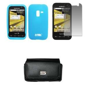 Light Blue Silicone Skin Cover Case + Screen Protector [EMPIRE