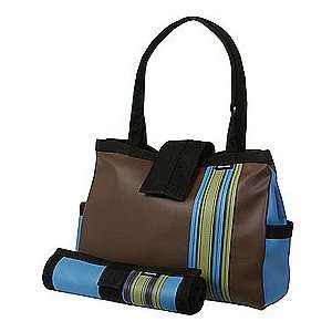Chocolate Bomber Diaper Tote with Changing Pad Baby