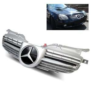 98 04 Mercedes Benz SLK Sport Grille   Chrome Painted