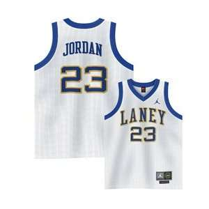 MICHAEL JORDAN LANEY HIGH SCHOOL AUTHENTIC SEWN JERSEY