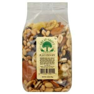 Great Skott Nut Mix Plantation Fruit, 14 Ounce (Pack of 6)