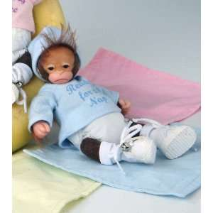 for a Nap 5 Ashton Drake Baby Jingles Vinyl Monkey Doll Toys & Games