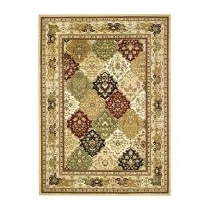 Safavieh Lyndhurst Collection LNH221C Multicolor Area Rug, 6 Feet by 9