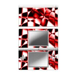 Nintendo DS Lite Skin Decal Sticker   Abstract Red
