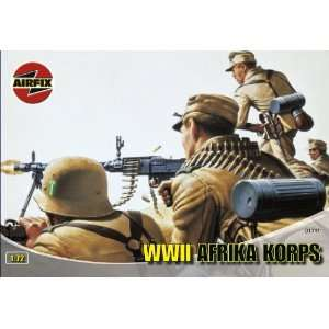 72 Scale Afrika Corps Figures Classic Kit Series 1 Toys & Games