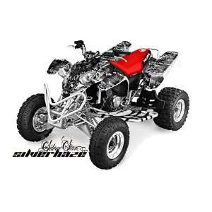 Silver Star AMR Racing Polaris Predator 500 2002 2011 ATV Quad Graphic