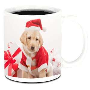 Knight Santa Labrador Retriever Dog Photo Quality 11 oz Ceramic Coffee