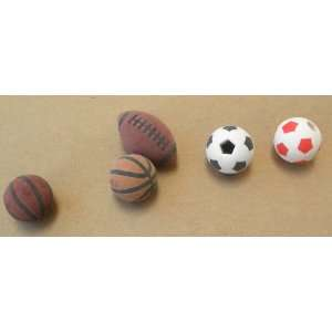 Soccer balls, 1 Football   Great for school Electronics