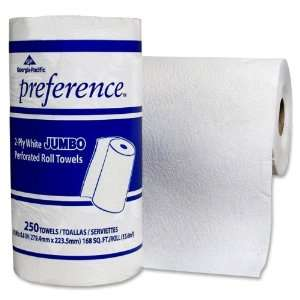 Roll Towels,Perforated,250 Sheets,8 13/16 quot;x11 quot