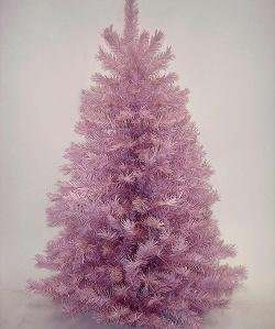 Pink Mauve Full Artificial Christmas Tree   Unlit