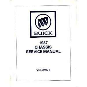 1987 Buick Grand National T Type Service Shop Manual Automotive
