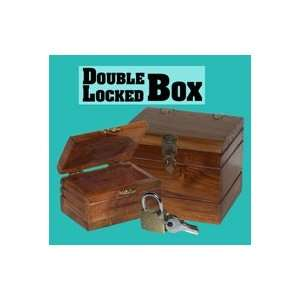 Double Locked Box Ring coin Magic Trick Illusion street