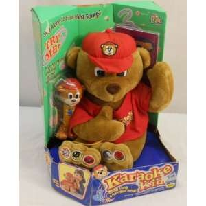 Karaoke Kid Sing Along Bear Plush Toys & Games