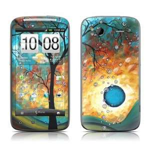 com Aqua Burn Design Protective Skin Decal Sticker for HTC Sensation